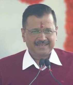 DELHI ARVIND KEJRIWAL TO TAKE AS OATH ON CHIEF MINISTER GOVERNOR