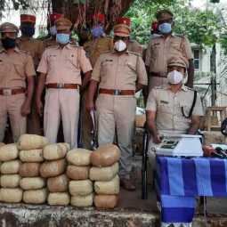 Cannabis sale targeting students in Pondicherry; 3 arrested! Seizure of 74 kg of cannabis