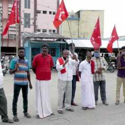 Erode CPI and CPM support farmers who demands various things in delhi