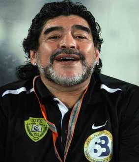 Football legend Maradona passes away