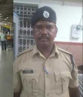 The ticket examiner who insulted the female passenger; Railway Guard displaced