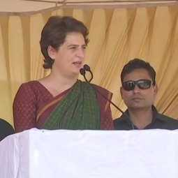 """They've sought to portray a character of his which is very far from truth"" priyanka gandhi"