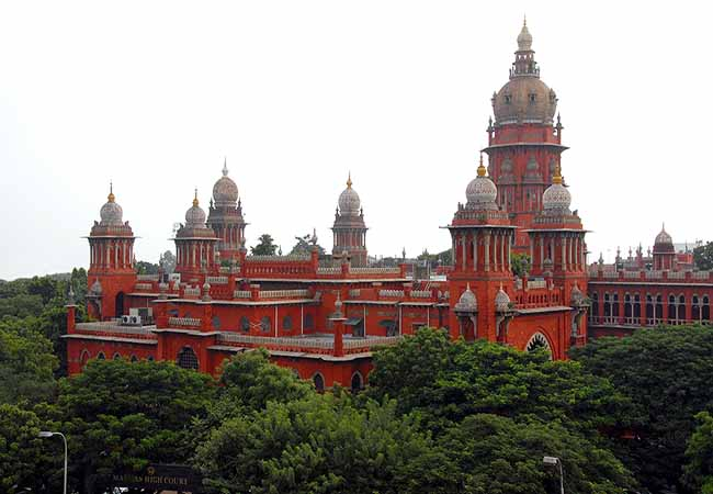 tamilnadu district judges chennai high court order