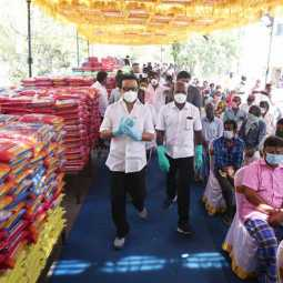DMK relief for 10 thousand families