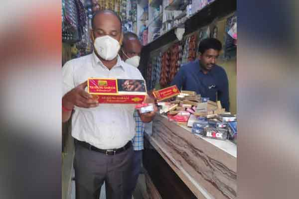Use of plastic in the corporation ... 15 shops fined ..!