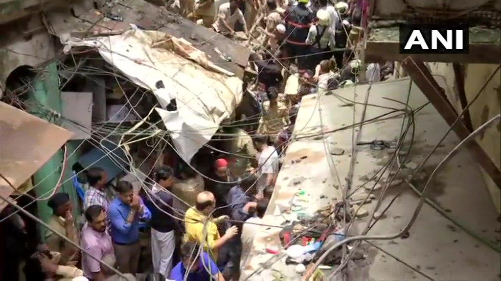 maharashtra state mumbai building collapse