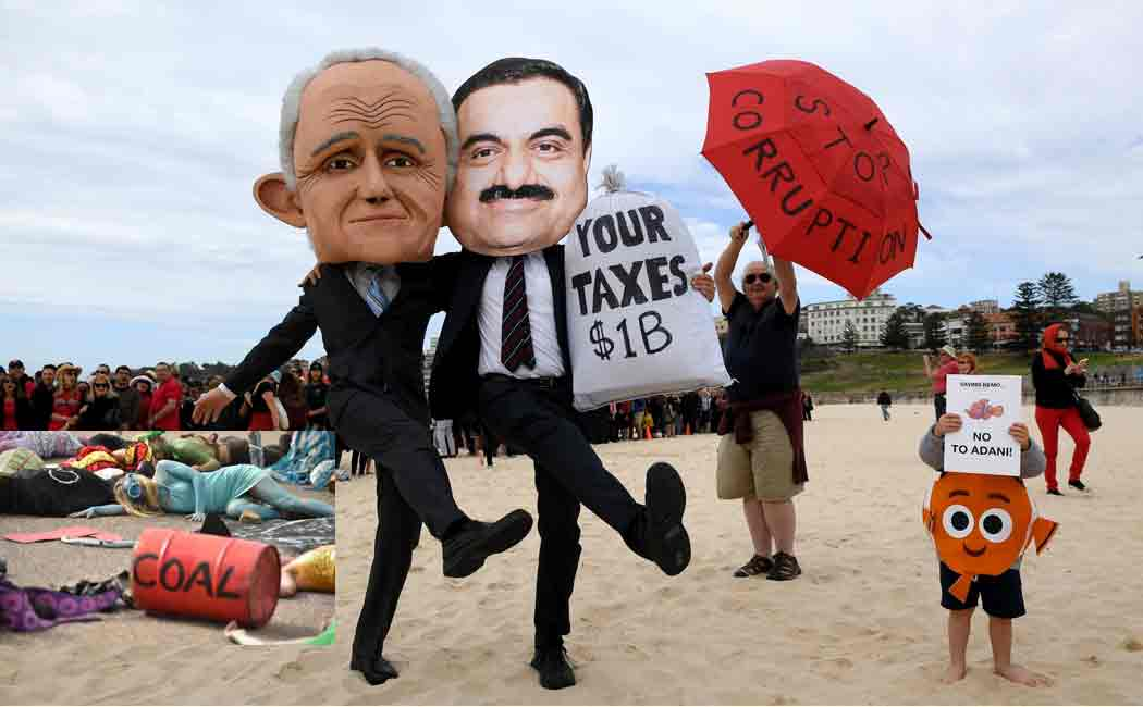 australia approves adani coal project in queensland