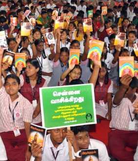 Chennai reads Photos