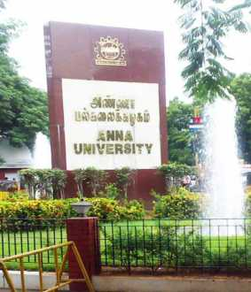 final semester exam anna university exam time table announced