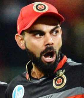 ipl umpire damaged stadium door after a fight with rcb captain virat kohli