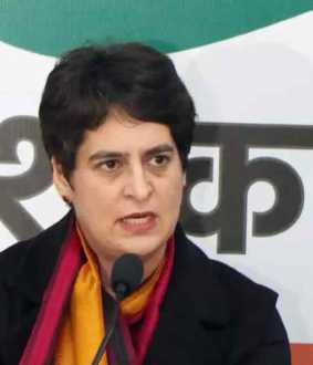 priyanka gandhi about farmers bill