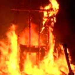 Fire in Chennai cinema shooting site