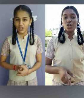 corona virus issue - chennai School students - QUESTION -
