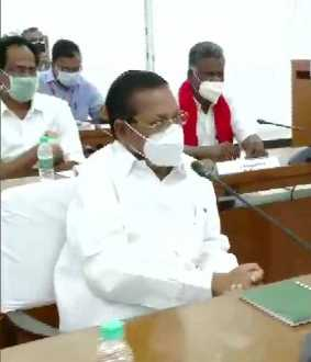 STERLITE PLANT TN GOVT DISCUSSION WITH ALL PARTIES MEETING