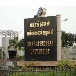 bharadhidasan university student incident department hod push police