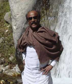 ACTOR RAJINIKANTH ARRIVE AT UTTARAKHAND  STATE