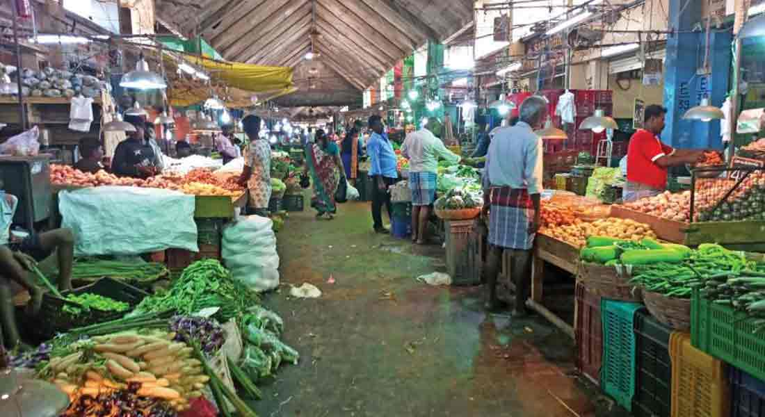 Struggle to close flower and vegetable markets across Tamil Nadu !! By the Chamber of Commerce