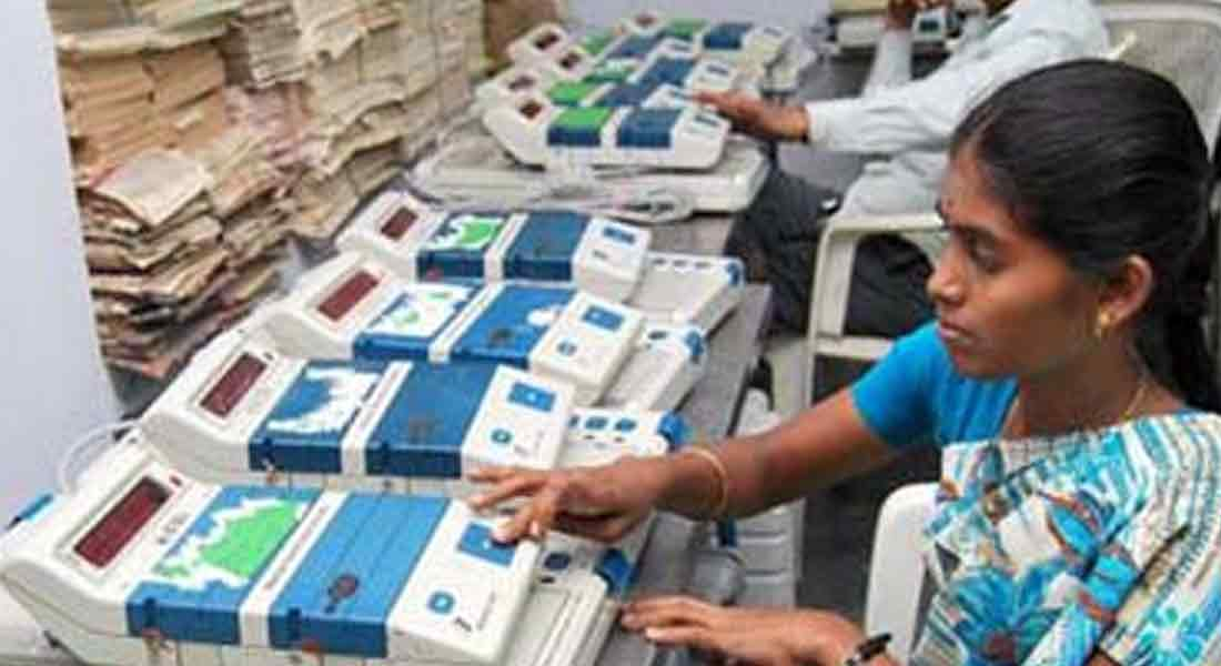 Do you know the highest number votes Counting Rounds in Tamil Nadu?