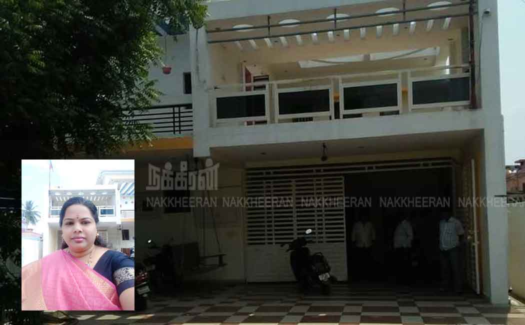 theft at dmk worker home