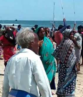 puducherry fishermans fight police investigation
