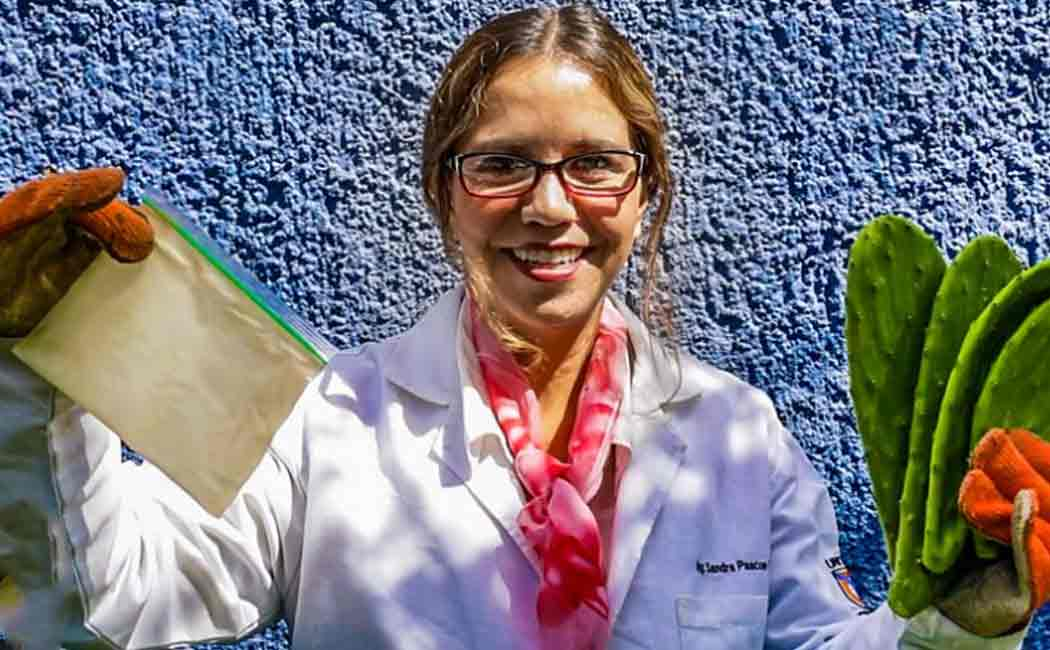 mexican scientist found biodegradable plastic