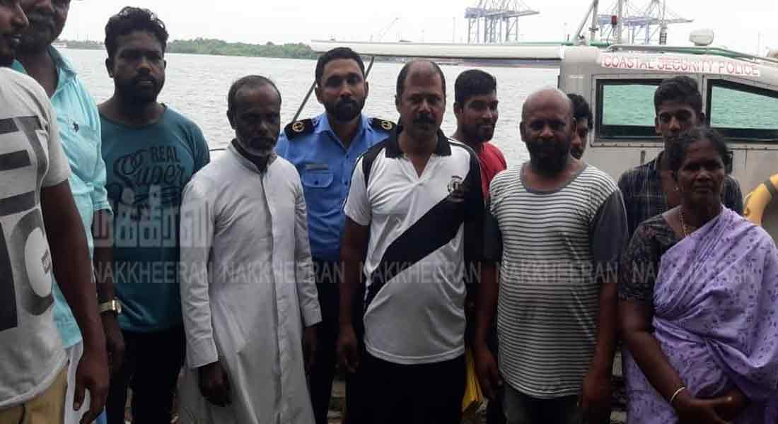 Fishermen stranded from Arabs escaped boat
