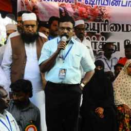 The struggle will not be over until the Chief Minister comes in and says - Thirumavalavan talk