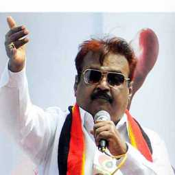 dmdk party president vijayakanth film compare to  chennai high court
