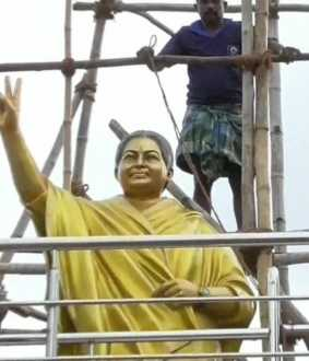 Jayalalithaa statue issue - chennai highcourt Order