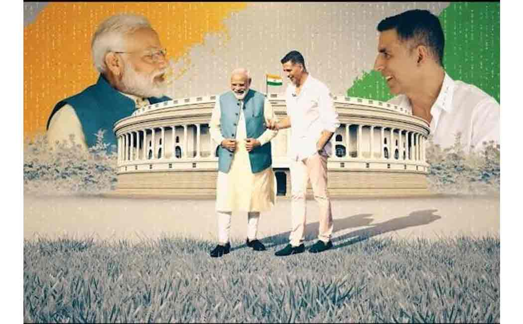modi interview with akshay kumar
