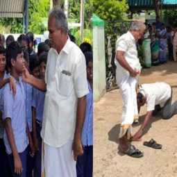 Head teacher should not go to alternative school... Students, Parents are crying ...