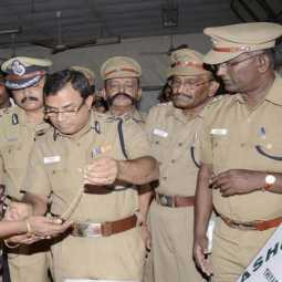 TAMILNADU DGP TRIPATHY IPS ANNOUNCED 311 POLICE SI PROMOTION