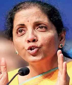 GST tax reduction for two wheelers ..? Nirmala Sitharaman
