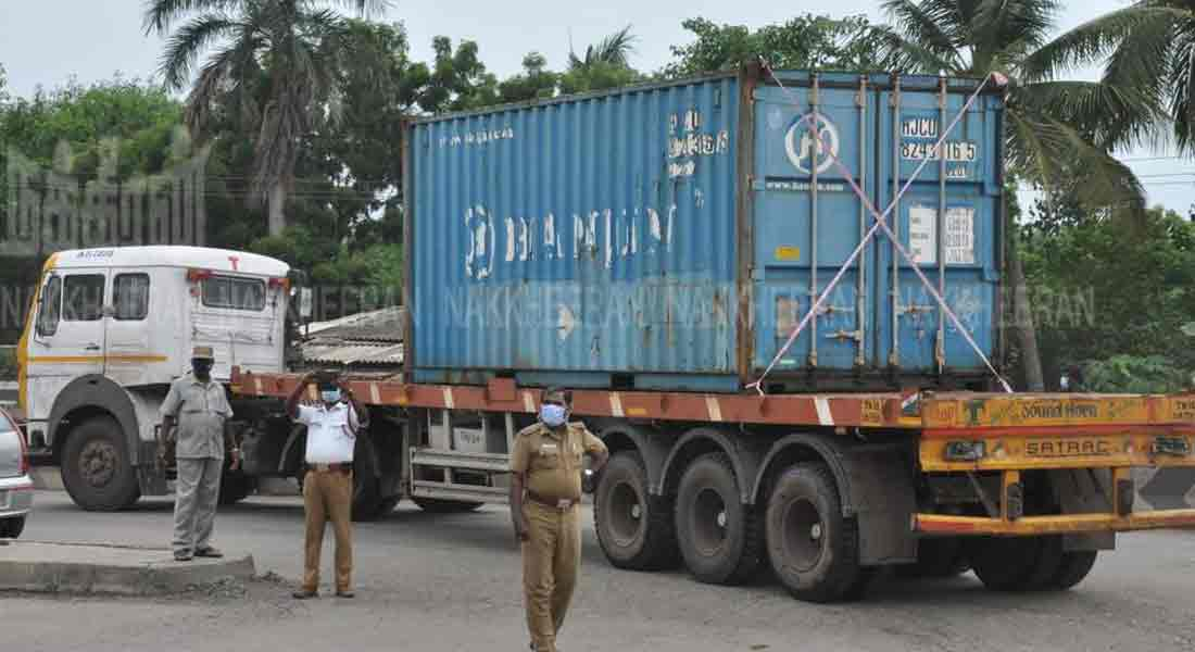 229 tons of ammonium nitrate removal from MANALI