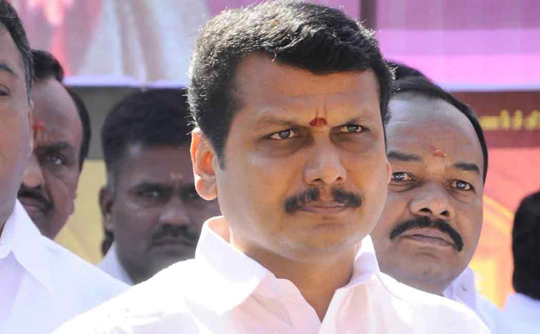 Senthil Balaji case suddenly changed to CBCID