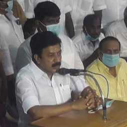 Minister C.V.Shanmugam speech at vizhupuram admk meeting