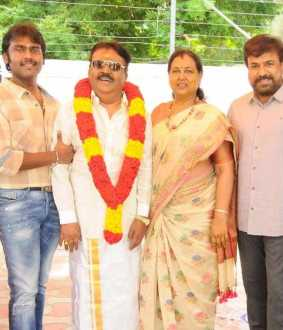 vijayakanth's birth day celebration