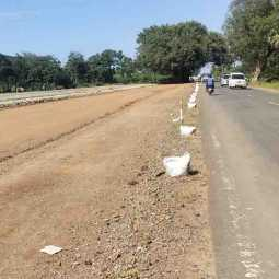 Thanjavur to Vikravandi road work