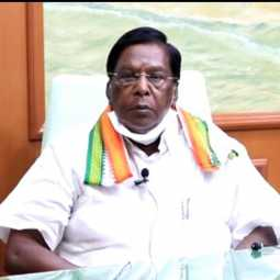 puducherry cm narayanasamy press meet coronavirus