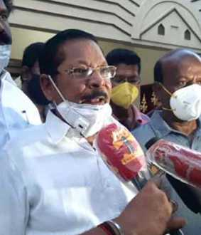 RS Bharathi condemns Minister Jayakumar