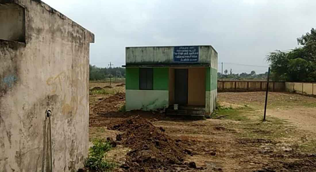 who illegally infects PVC pipeline through the state school premises dhasildar