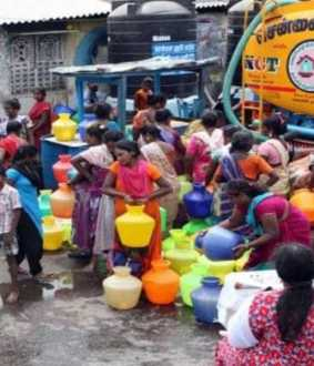 new york times released in chennai water demand article