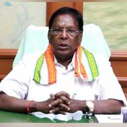 puducherry cm narayanasamy announced lockdown extend till july 31