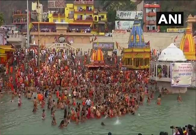 uttarakhand haridwar district ganga river Maha Kumbh