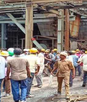 30 lakh compensation for Boiler accident victims ... NLC announces