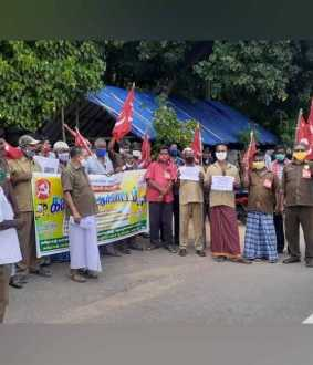 Road Transport Workers Union and Erode Auto Workers Union in erode