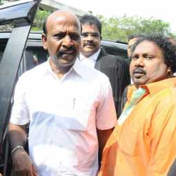 chennai M Subramanian MLA in land grabbing case Appear court