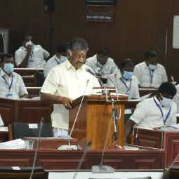tn assembly interim budget deputy cm opaneerselvam announced peoples
