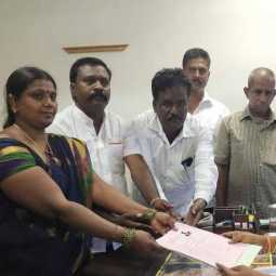 shoba barath Files nomination