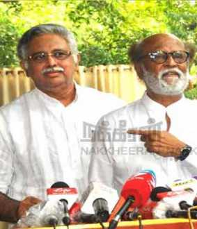 """Rajini's blessings alone will soon be a servant of change"" - Arjuna Murthy"